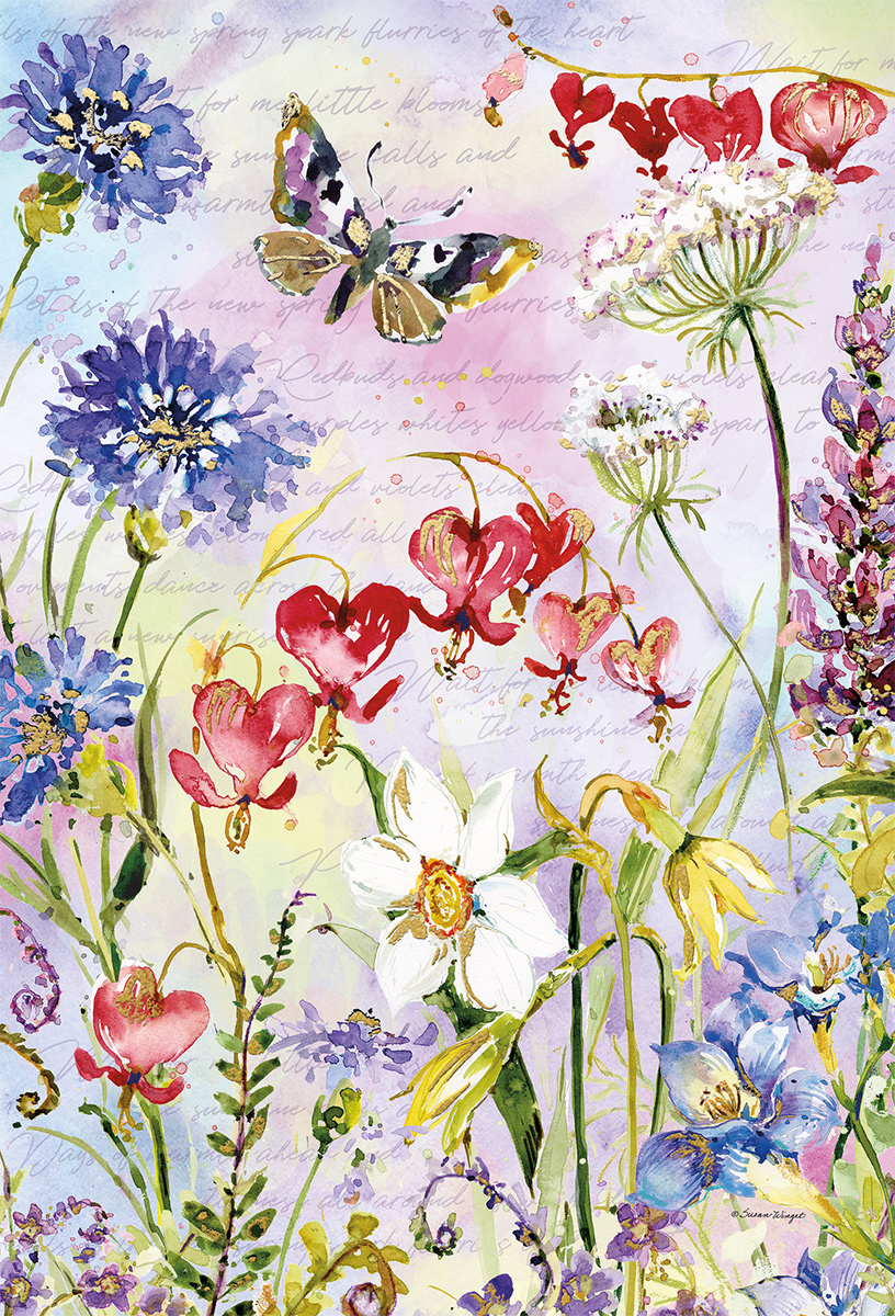 Eden Butterflies and Insects Jigsaw Puzzle