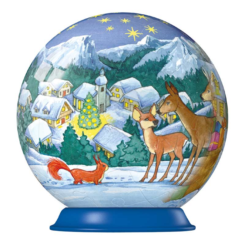 Puzzleball - Reindeer Christmas Jigsaw Puzzle