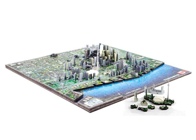 Toronto Maps / Geography Jigsaw Puzzle