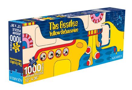 Beatles Slim - Yellow Submarine Music Jigsaw Puzzle