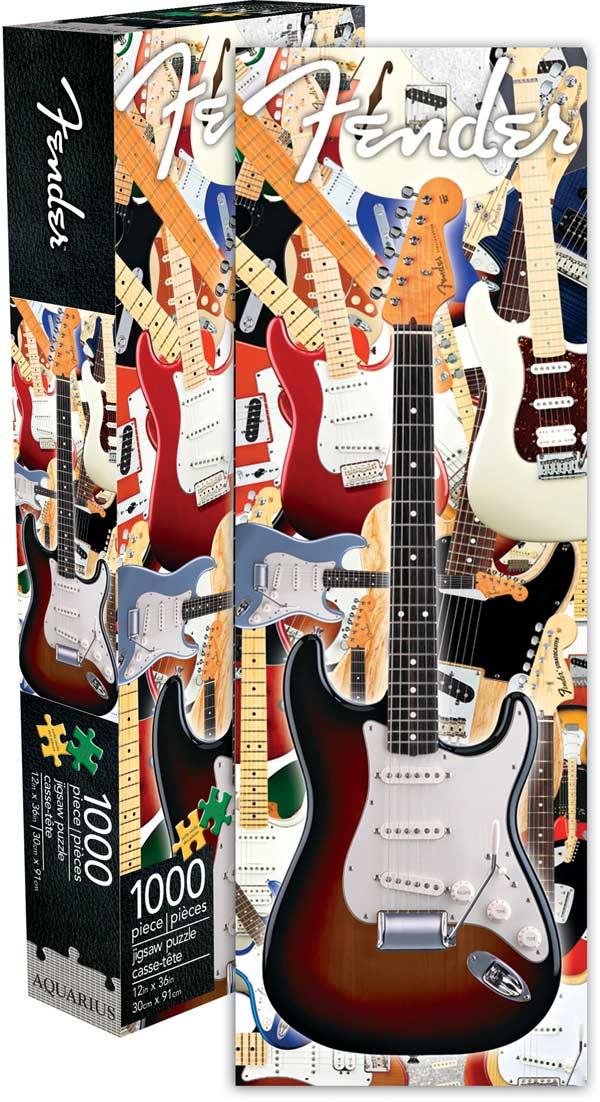 Fender - Guitar Slim Music Jigsaw Puzzle