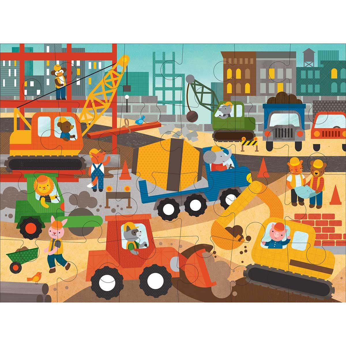 Construction Site Construction Jigsaw Puzzle