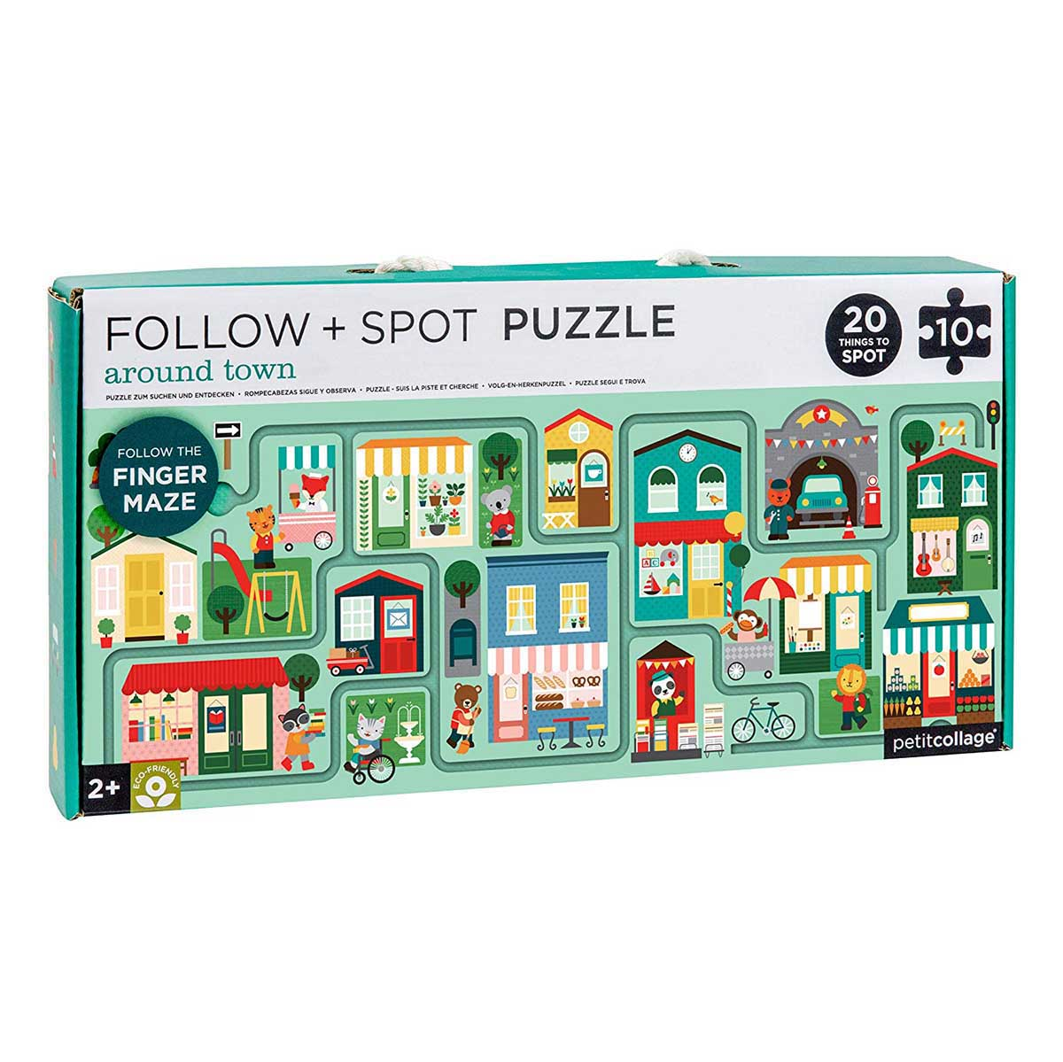 Around Town Cities Jigsaw Puzzle