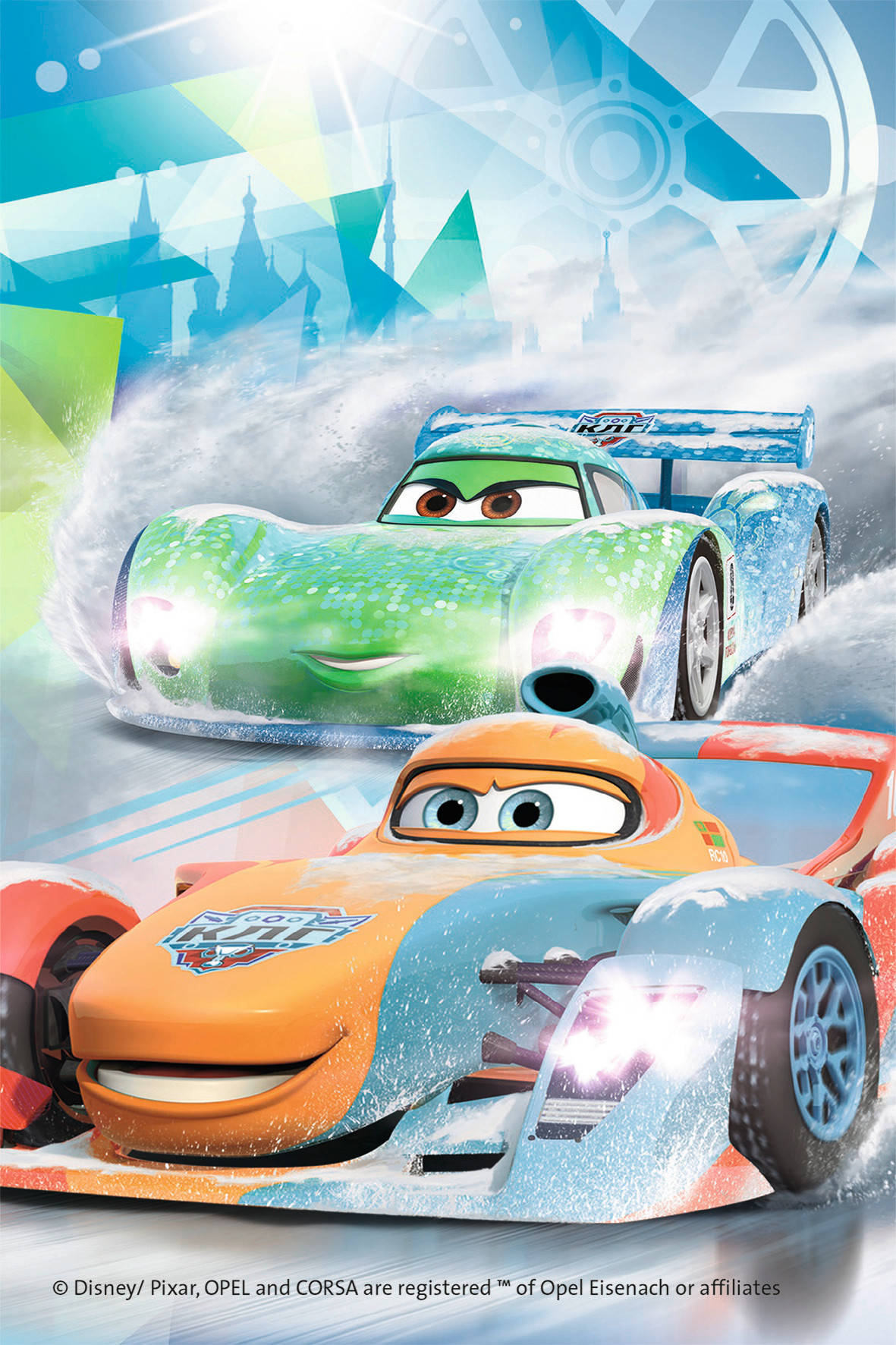 Cars (Mini, #2) Disney Jigsaw Puzzle