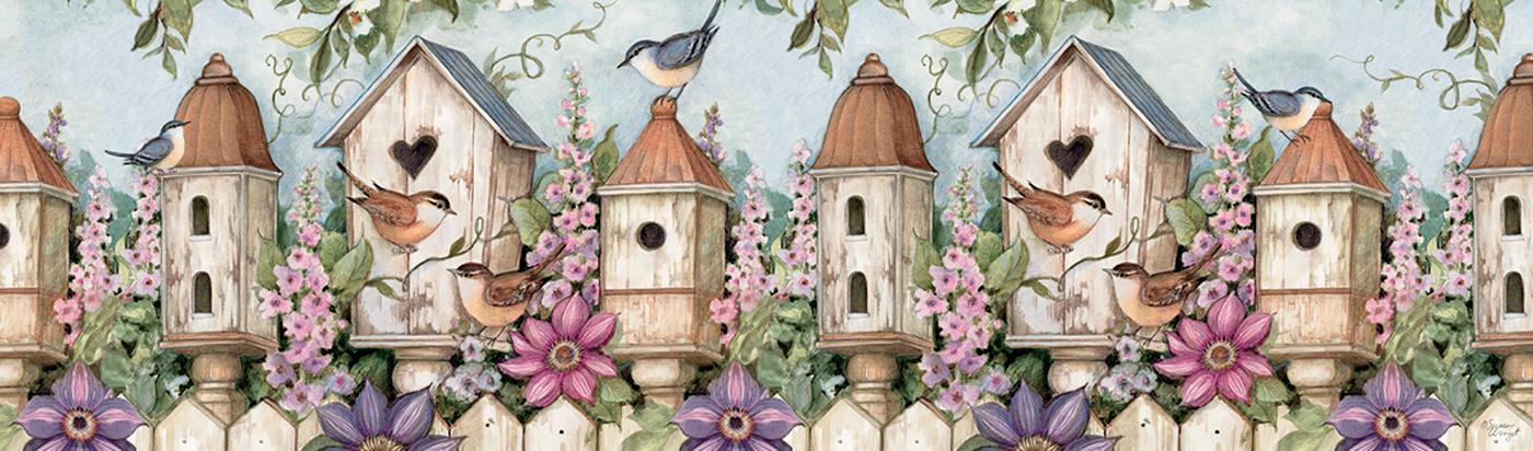 Birdhouse Garden Birds Jigsaw Puzzle