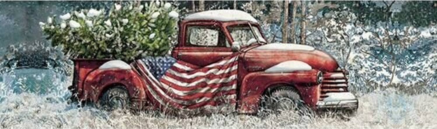 Flag Truck Vehicles Jigsaw Puzzle