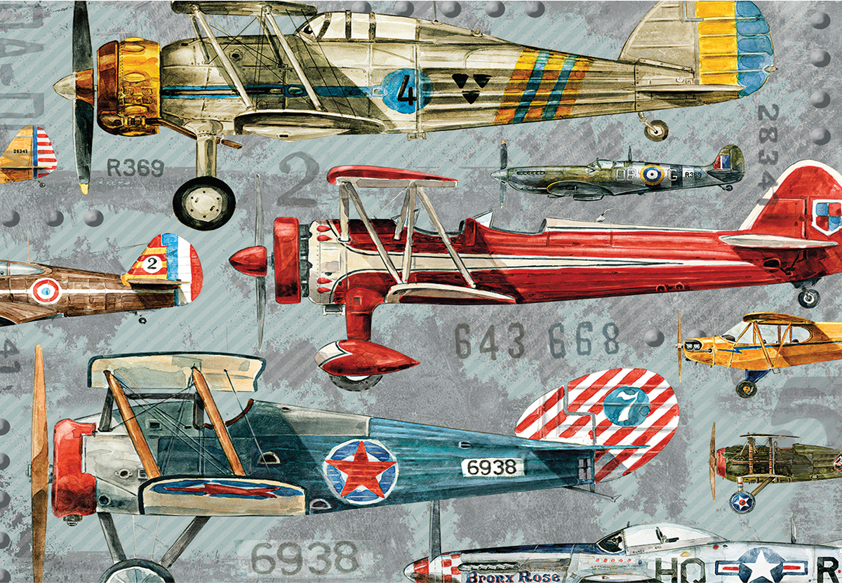 Planes Travel Jigsaw Puzzle