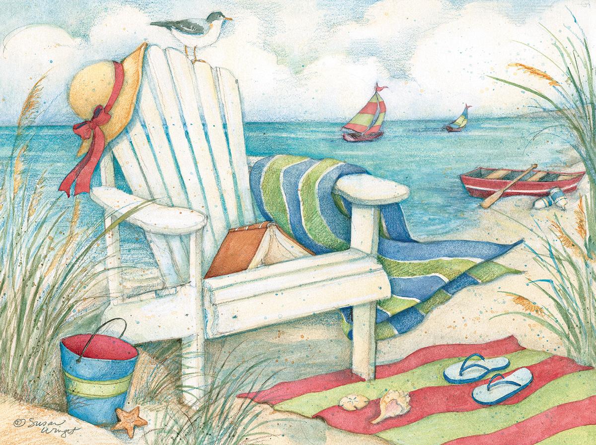 Just Beachy Beach Jigsaw Puzzle