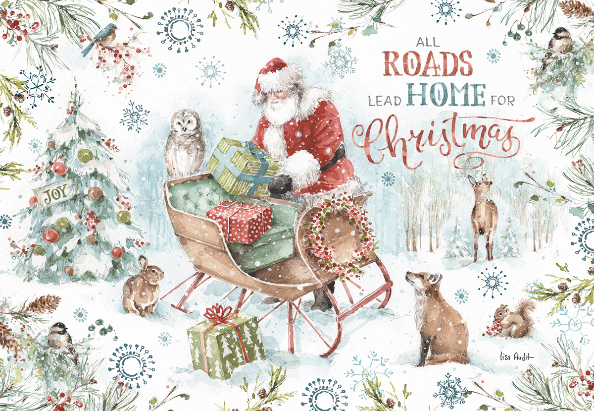Magical Holidays Winter Jigsaw Puzzle