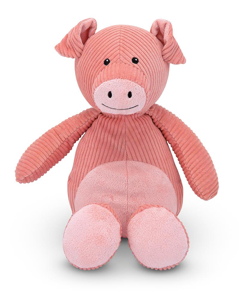 Corduroy Cutie Pig Plush Toy