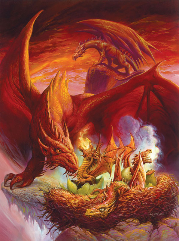 Hatchlings Dragons Jigsaw Puzzle