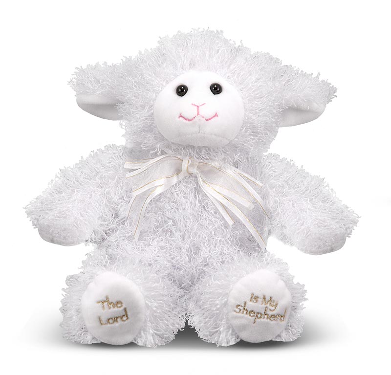 23rd Psalm Lamb Plush Toy
