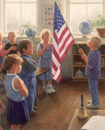 The Pledge Patriotic Jigsaw Puzzle