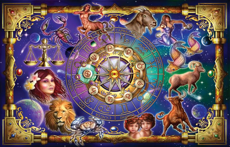 Zodiac 2 Space Jigsaw Puzzle