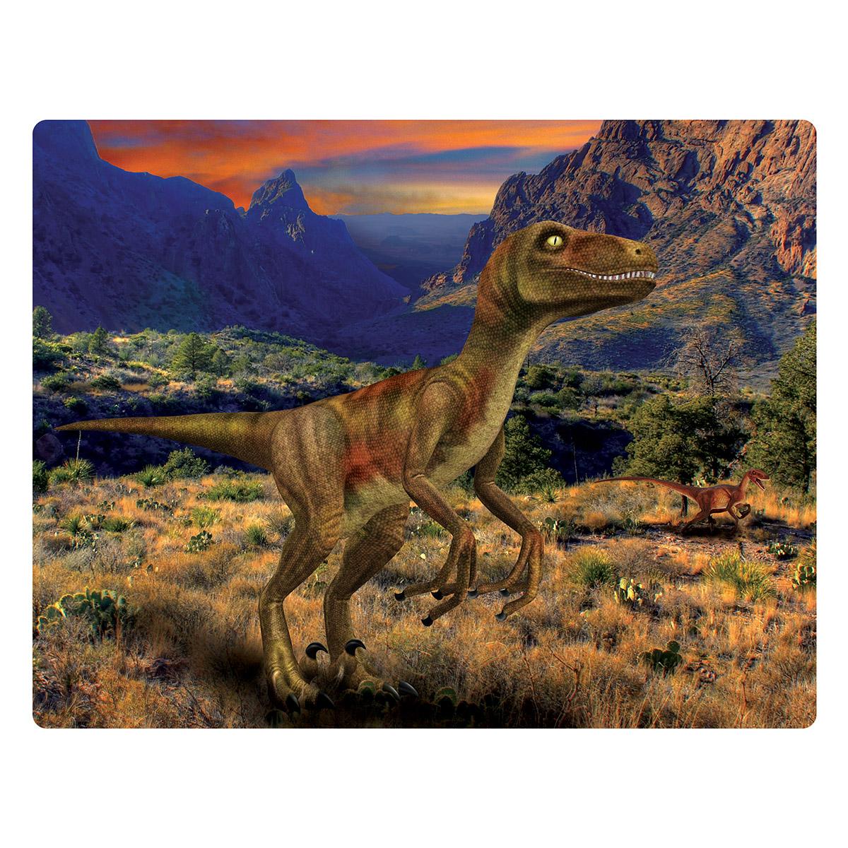 Velociraptor Dinosaurs Jigsaw Puzzle