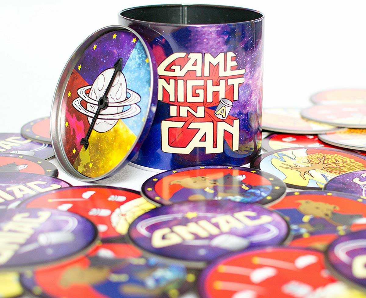 Game Night in a Can Father's Day