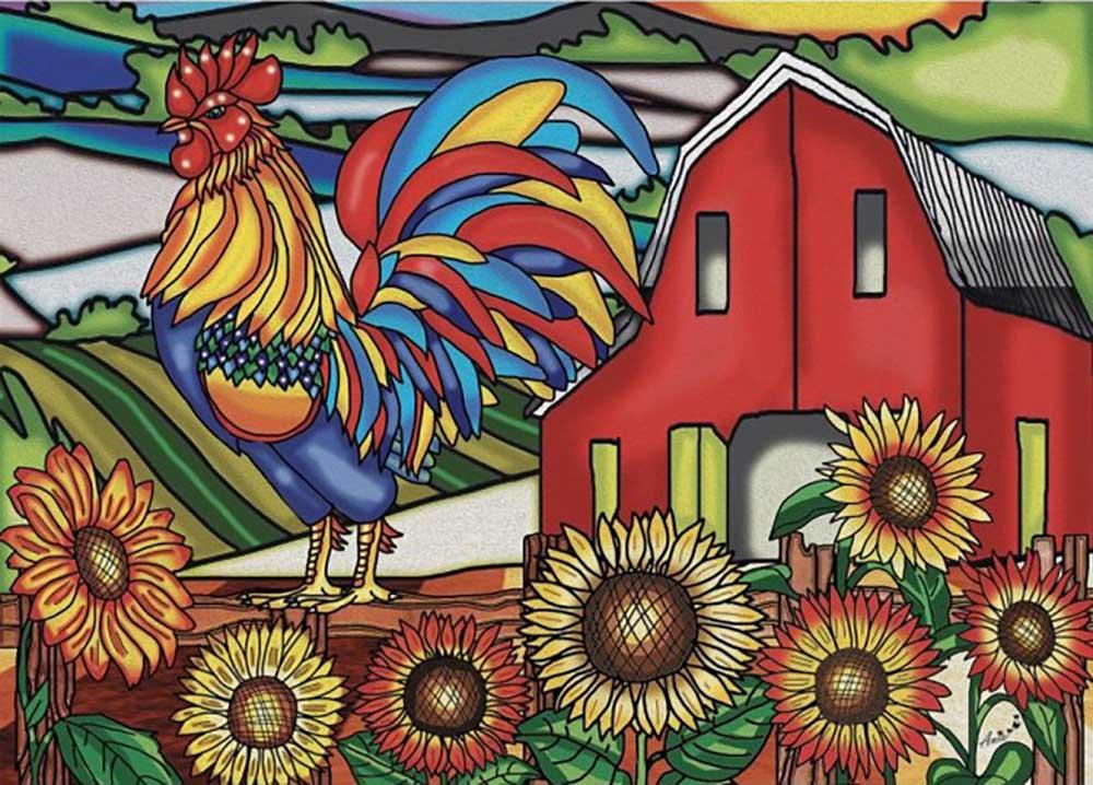 Cock-A-Doodle-Doo Farm Jigsaw Puzzle