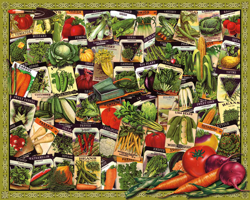 Victory Garden Jigsaw Puzzle