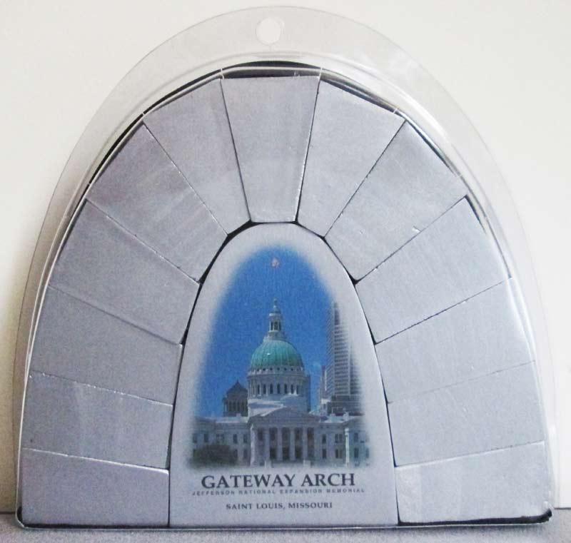 Saint Louis Catenary Arch Landmarks 3D Puzzle