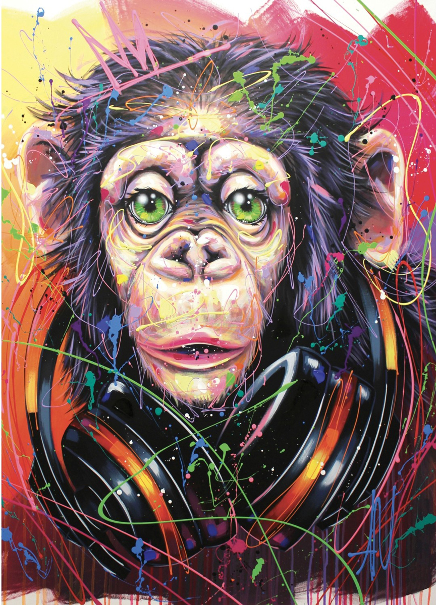DJ Chick! Animals Jigsaw Puzzle