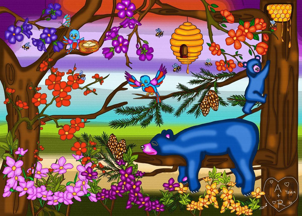 The Bear Necessities Wildlife Jigsaw Puzzle