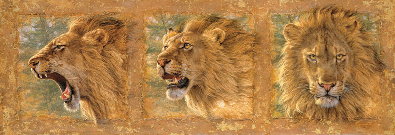 Mood Swing Lions Jigsaw Puzzle
