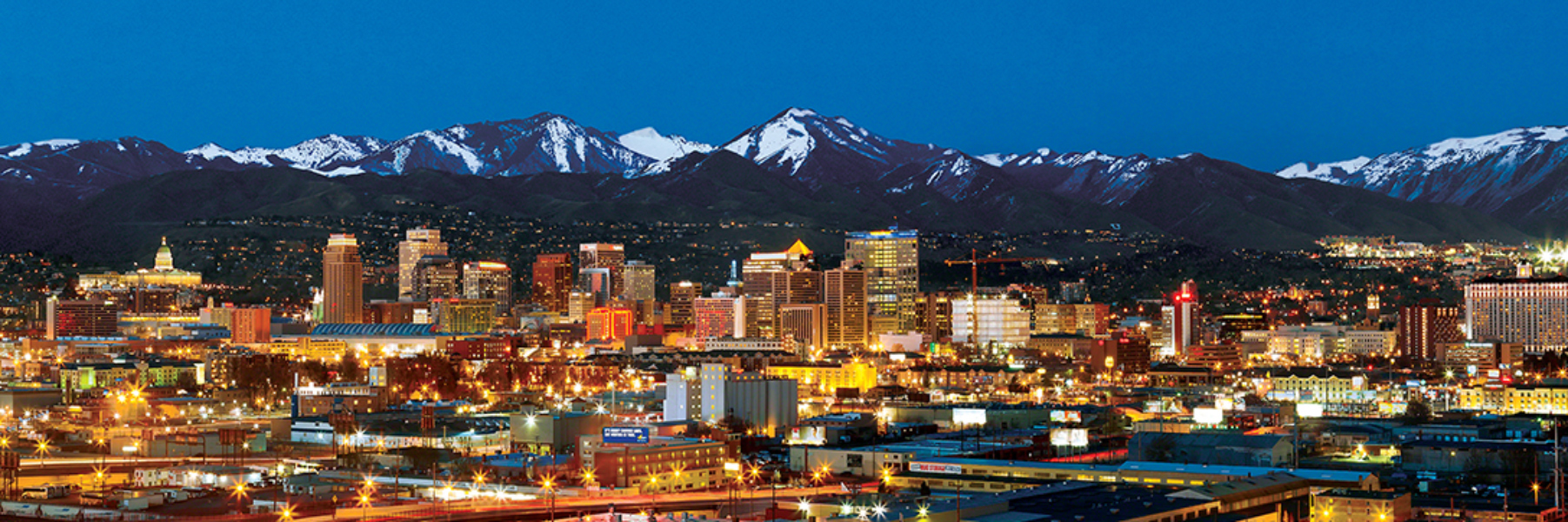 Salt Lake City Skyline / Cityscape Jigsaw Puzzle