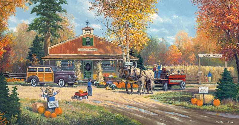 Autumn Tradition Fall Jigsaw Puzzle