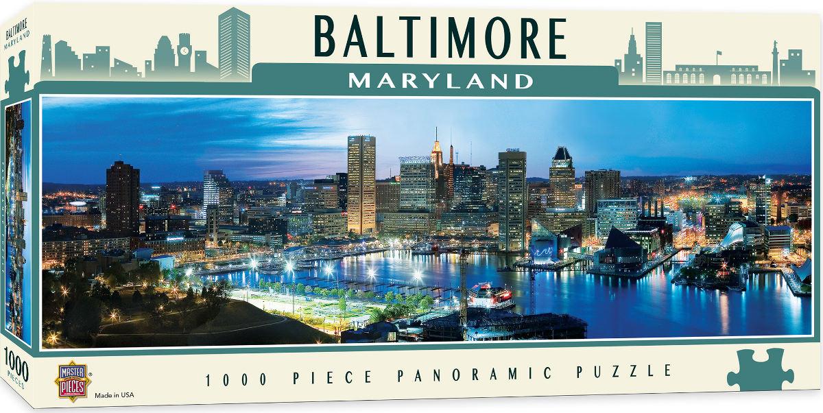 Baltimore Skyline / Cityscape Jigsaw Puzzle