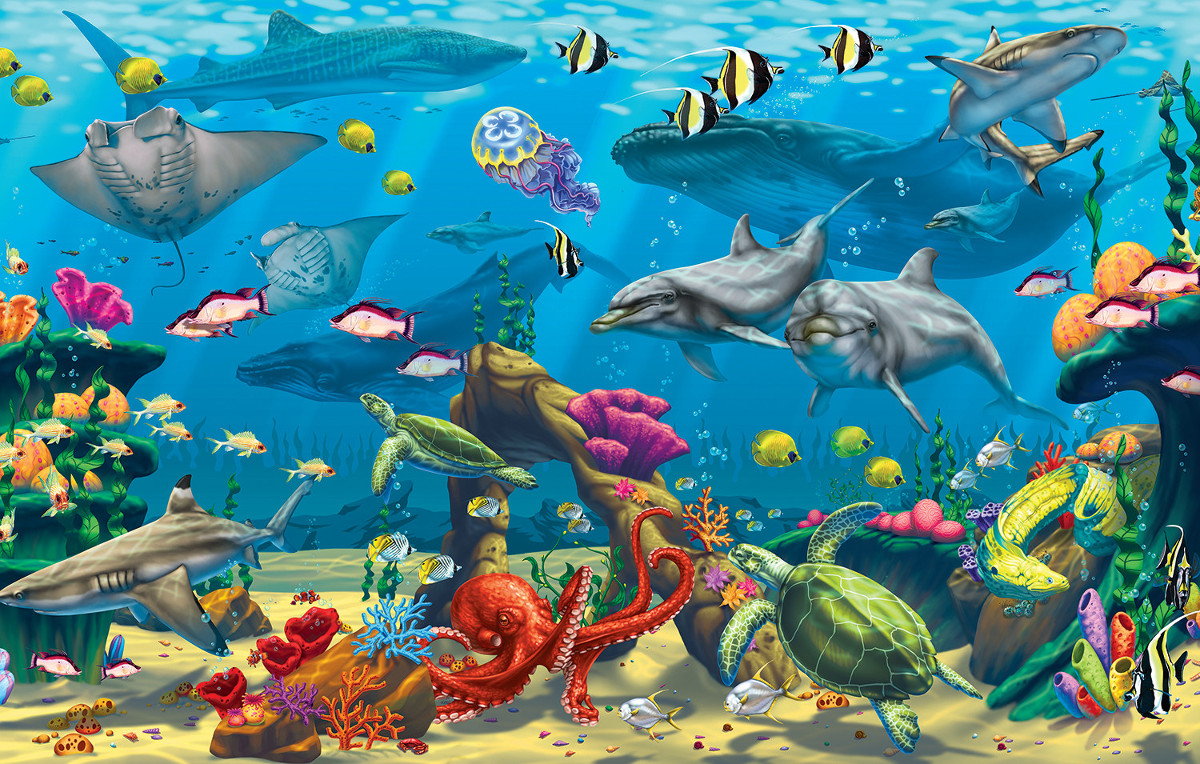 Ocean Adventure - Scratch and Dent Under The Sea Jigsaw Puzzle