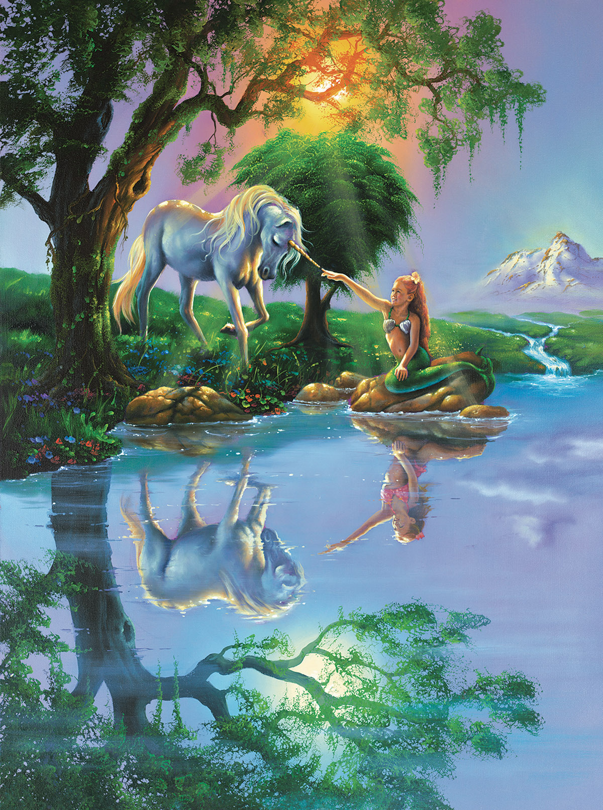 If Only You Believe Fantasy Jigsaw Puzzle