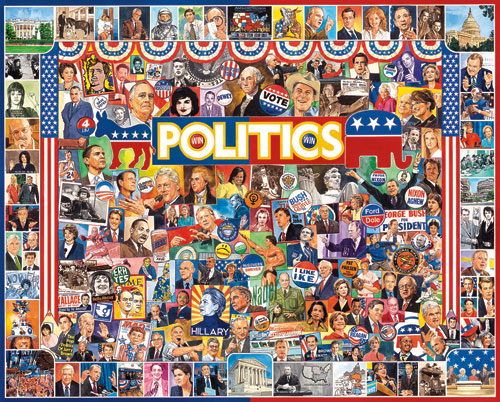 Politics Famous People Jigsaw Puzzle
