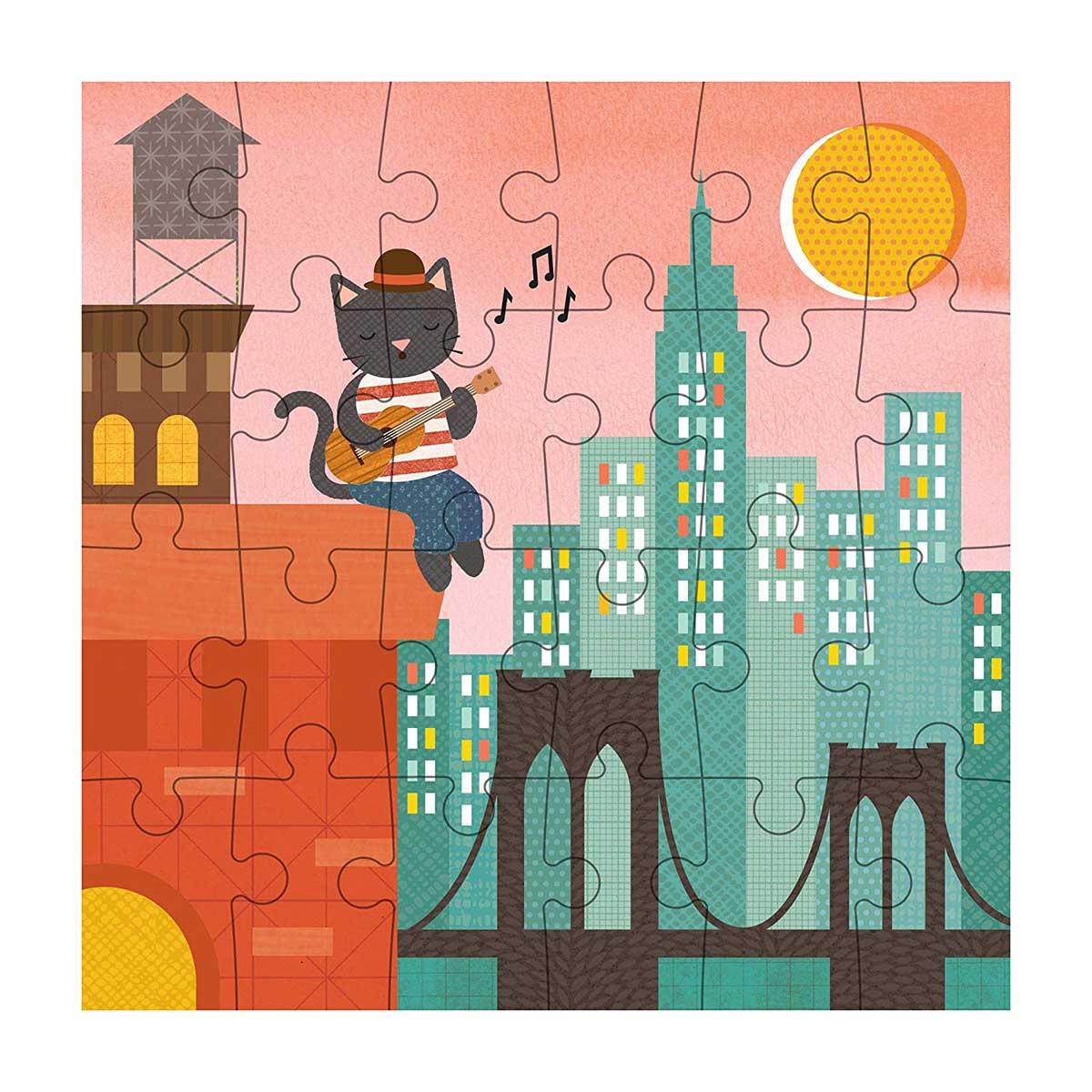 New York City Bridge New York Jigsaw Puzzle