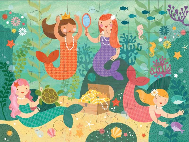 Mermaid Friends Mermaids Jigsaw Puzzle