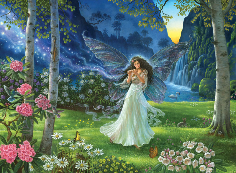 Summer Melody Fairies Jigsaw Puzzle
