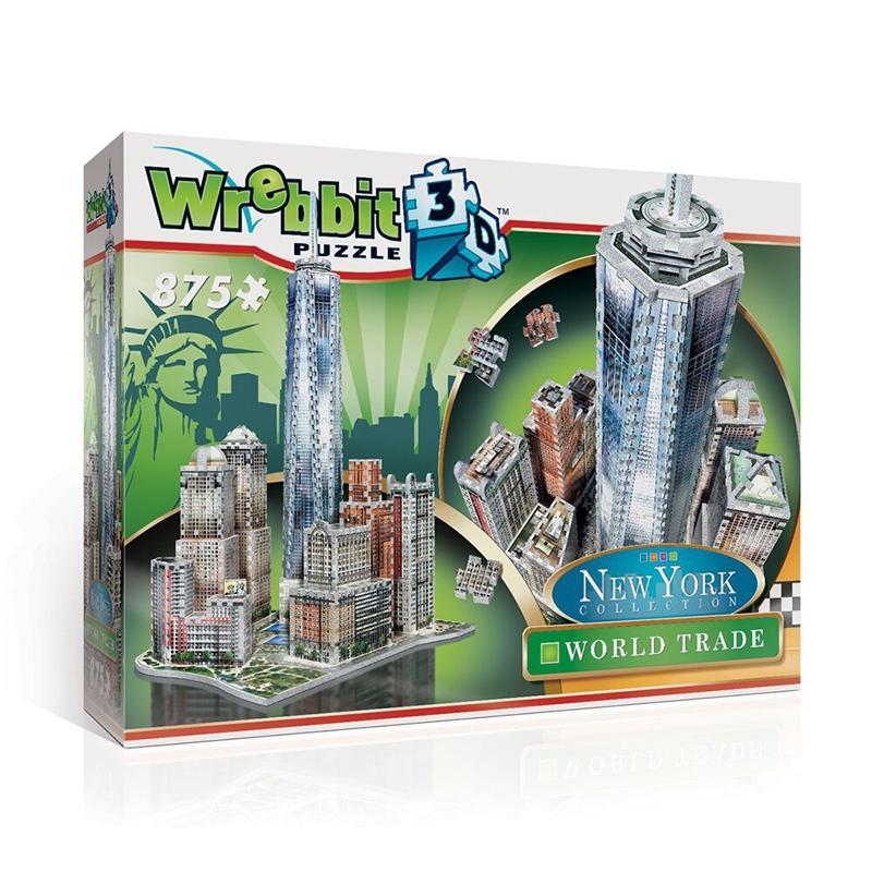 World Trade - New York City Landmarks / Monuments 3D Puzzle