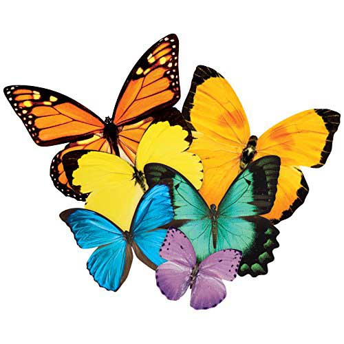 Butterfly Cluster Butterflies and Insects Shaped Puzzle