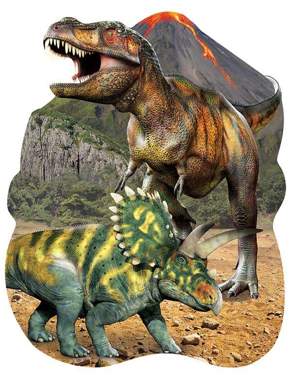 Dinosaurs (Mini) Dinosaurs Jigsaw Puzzle