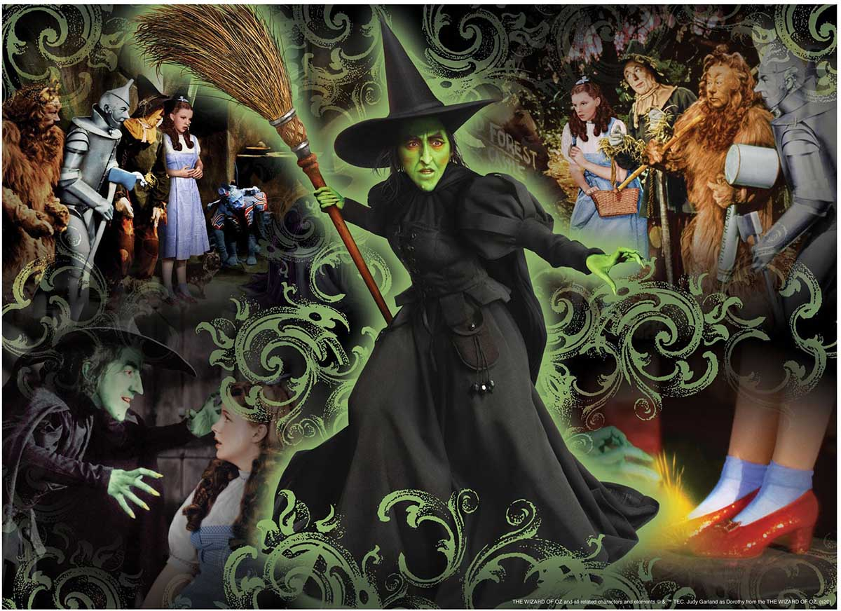 Wicked Witch Movies / Books / TV Jigsaw Puzzle