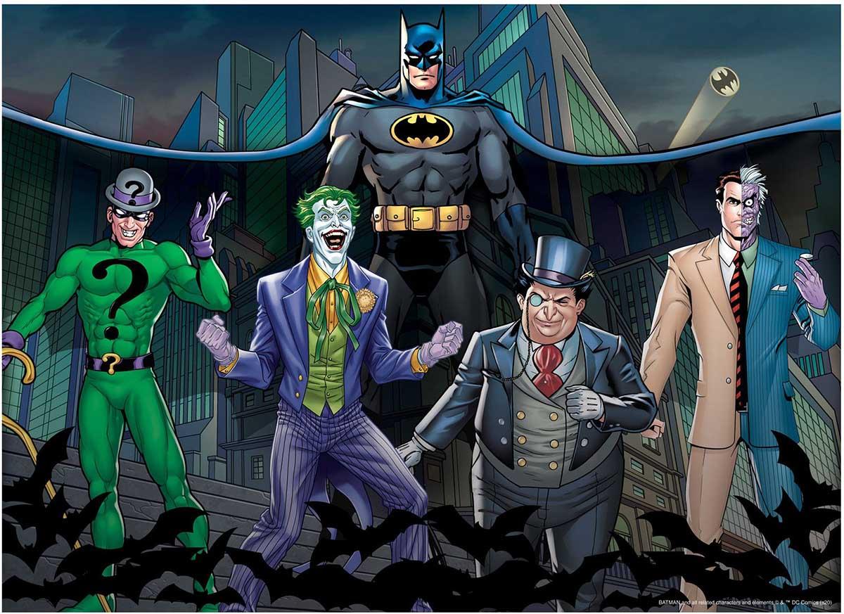 Batman & Villains Cartoons Jigsaw Puzzle