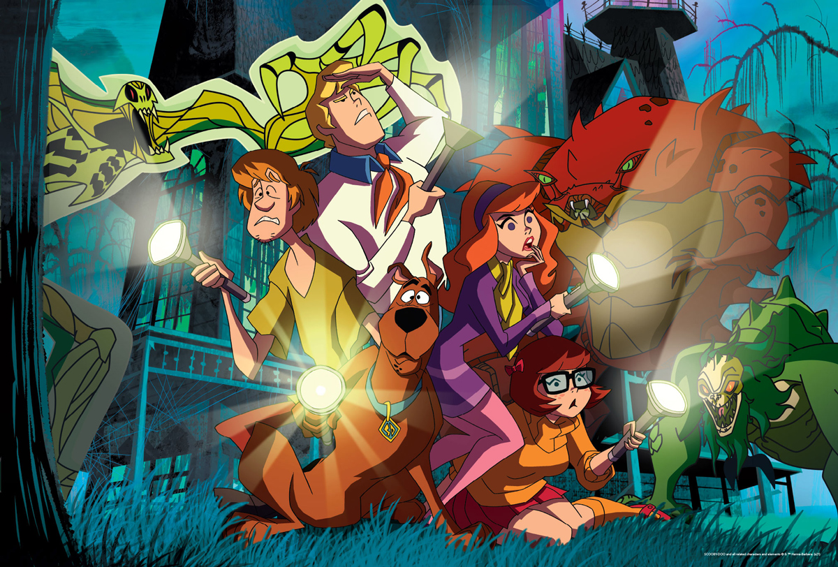 Scooby Doo Mystery Inc. Movies / Books / TV Jigsaw Puzzle