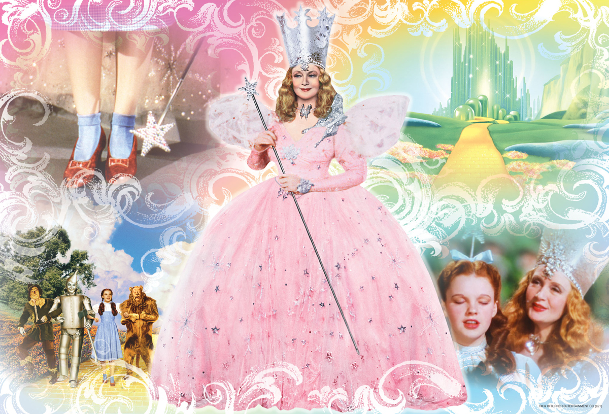 Glinda, The Good Witch of the North Fantasy Jigsaw Puzzle