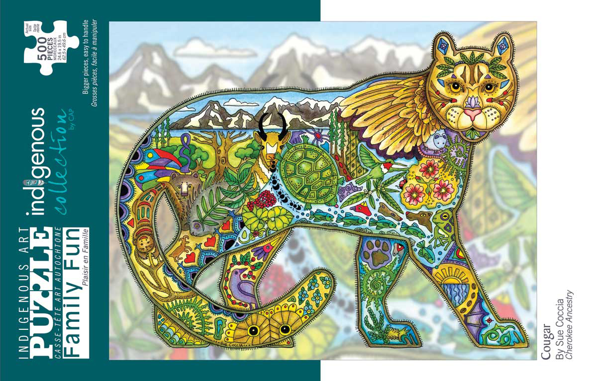 Cougar Cats Jigsaw Puzzle