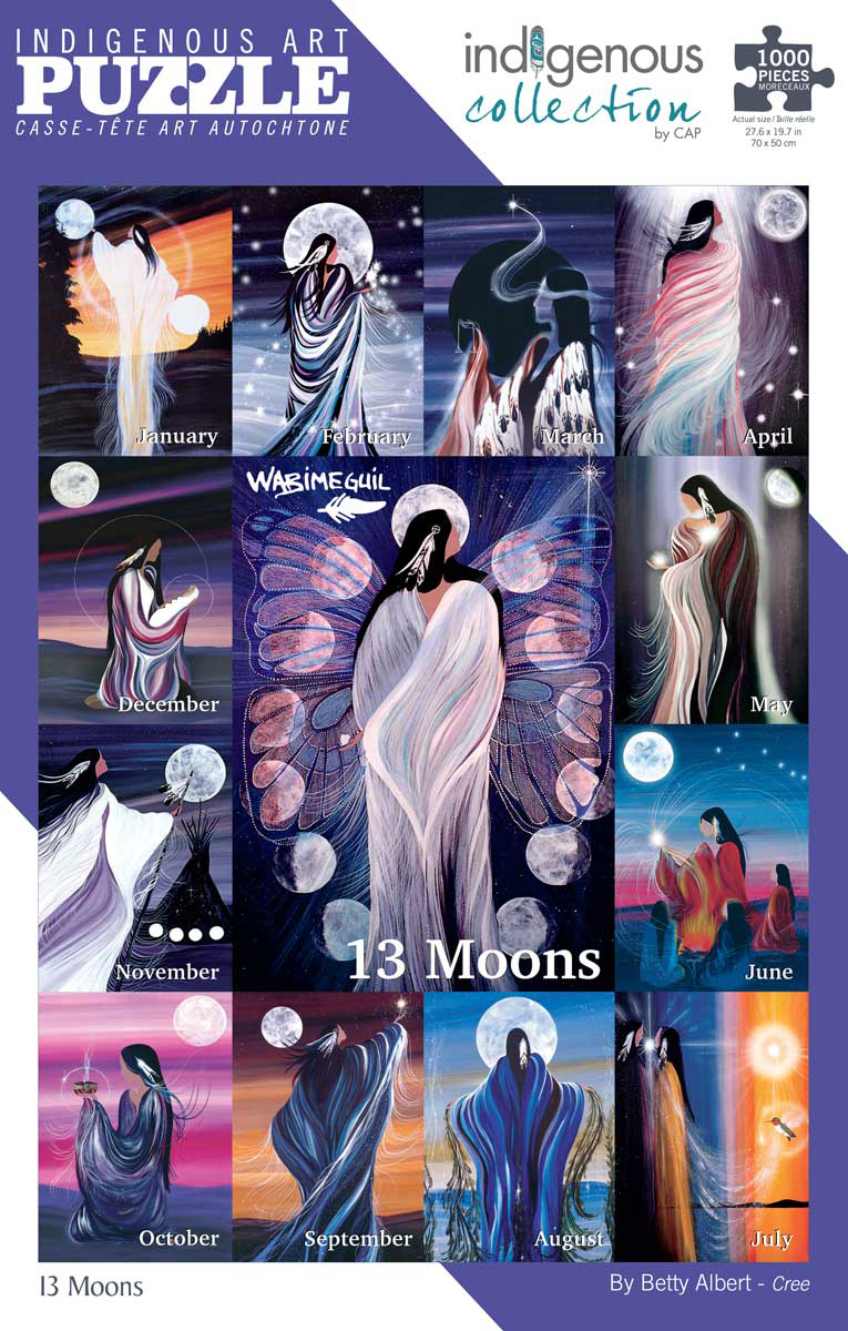 13 Moons Native American Jigsaw Puzzle