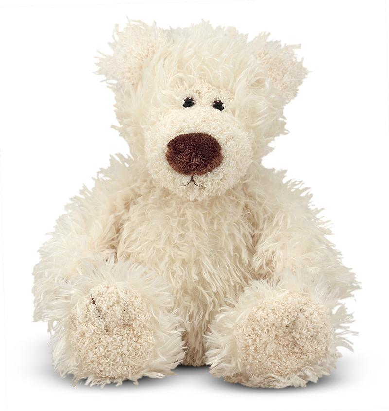 Baby Roscoe Bear - Vanilla Plush Toy