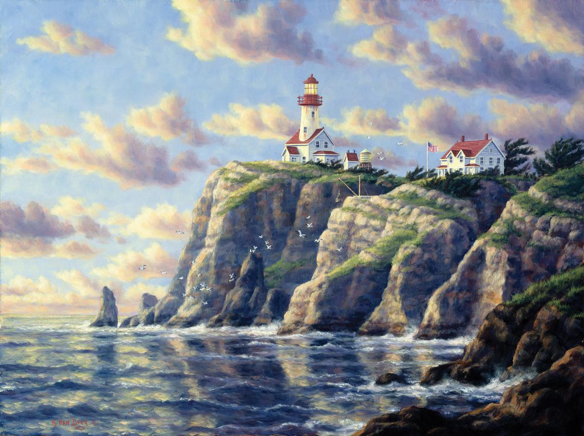 Cape Flattery Lighthouses Jigsaw Puzzle