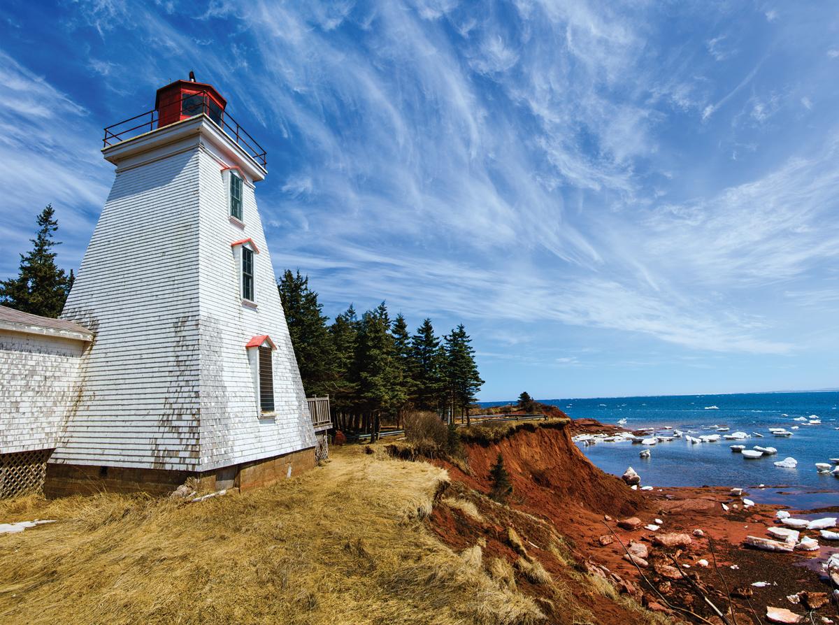 Cape Bear Lighthouse Lighthouses Jigsaw Puzzle
