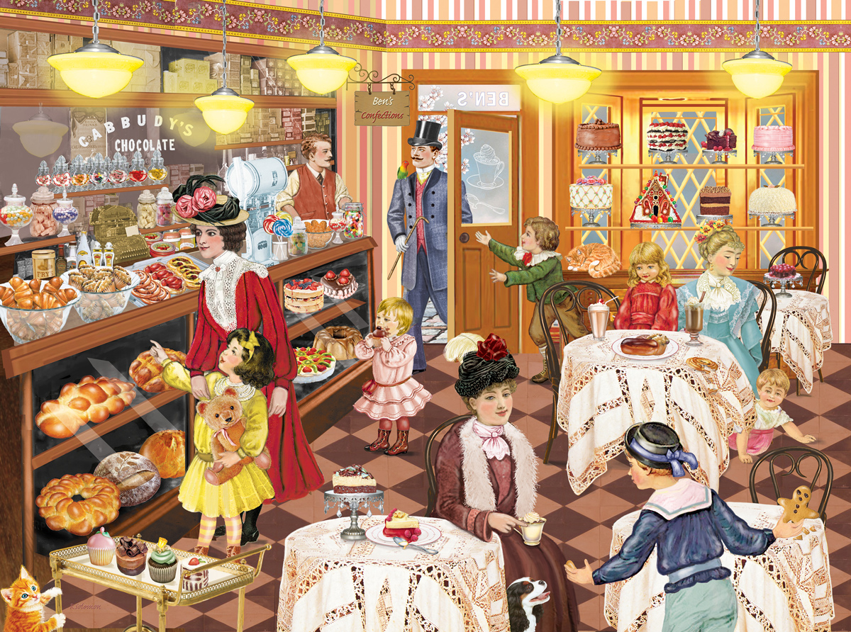 Ben's Confectionary Food and Drink Jigsaw Puzzle