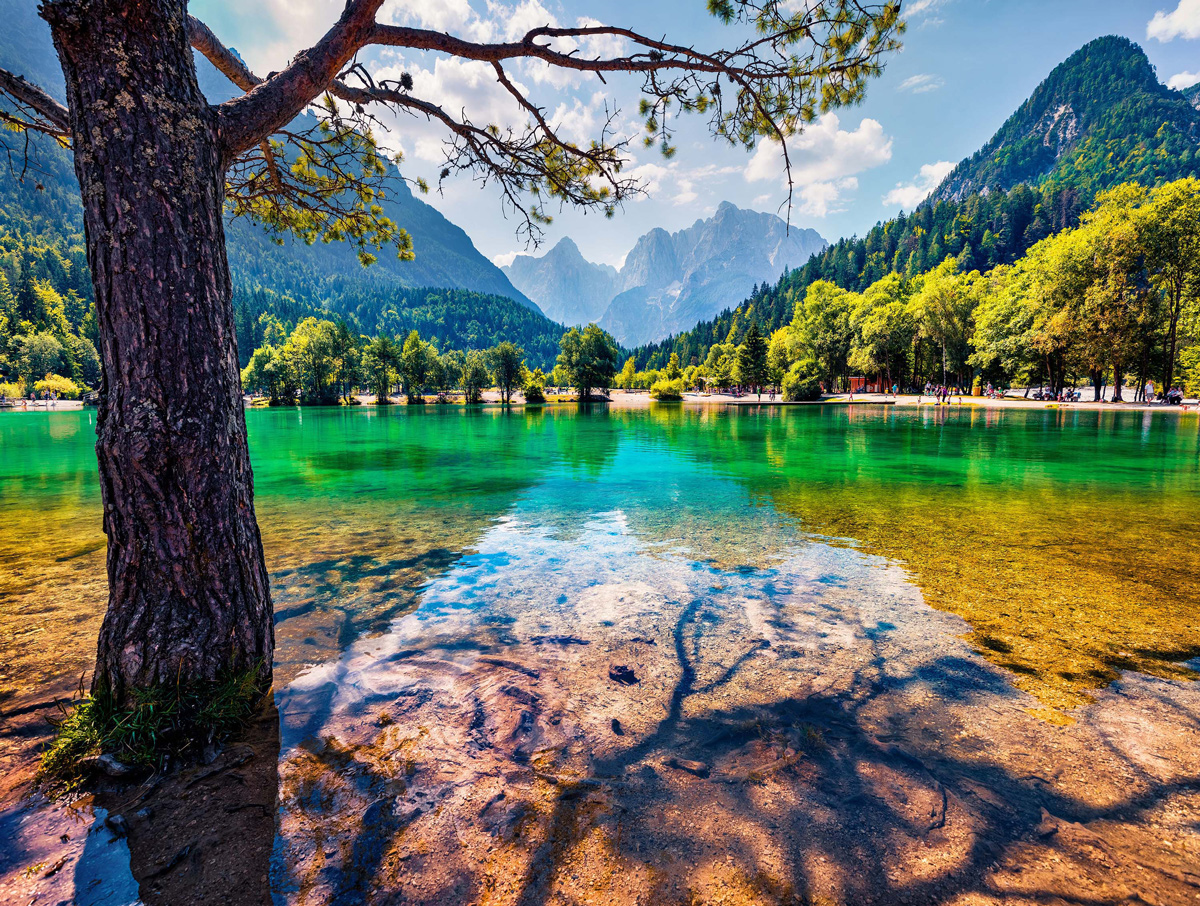 Jasna Lake, Slovenia Photography Jigsaw Puzzle