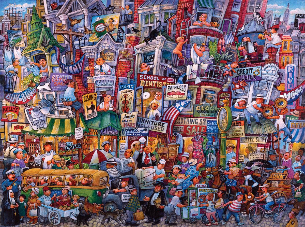 "Dr. Puzzle ""Illusion"" Jigsaw Puzzle"